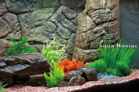 Aquarium Filter cover beige 28cm height