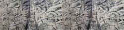 3D Foam Rock Grey Background Modules size 200x65cm
