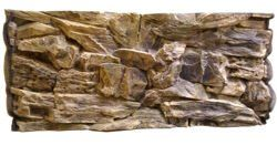 3D beige rock background 77x36cm