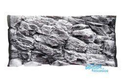3D grey rock background 97x36cm