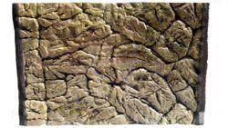 3D thin rock background 77x36cm