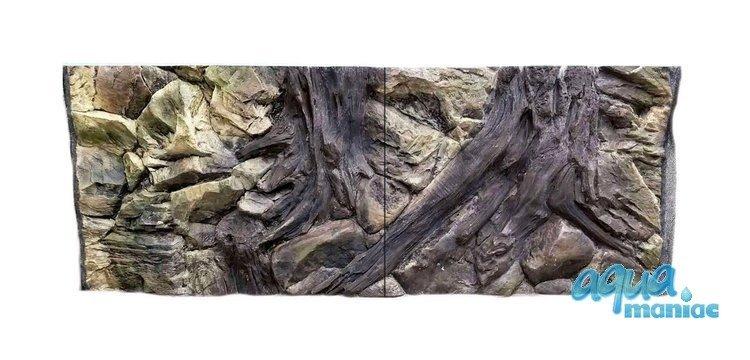 3D Background Root 97x45cm to fit Aqua Oak 110 Aquarium