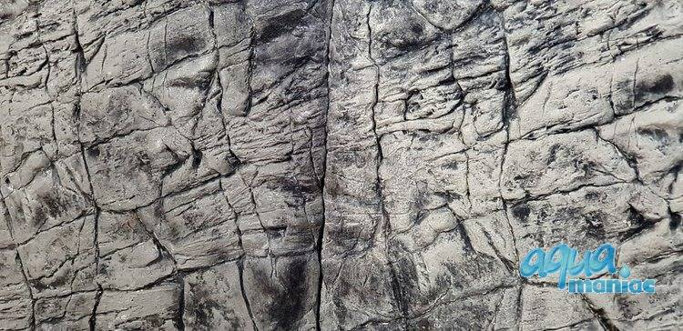 3D Foam Rock Grey Background Modules size 120x55cm