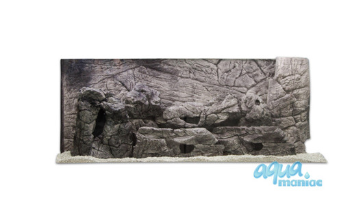 3D grey thin background 196x54cm