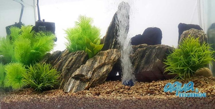 Aquarium Fake Plants Bundle - 4 pcs