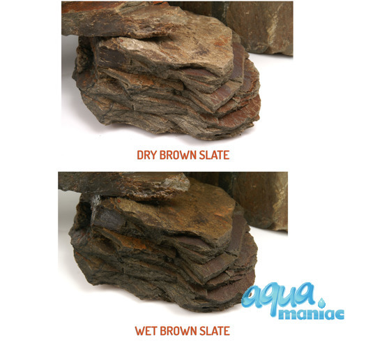 Brown Slate for Aqua Scaping