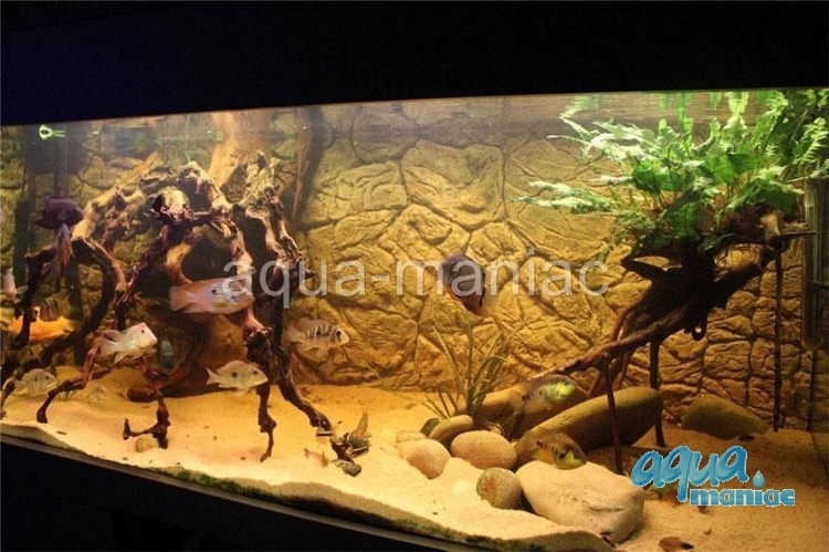 JUWEL RIO 125 3D thin rock background 78x42cm