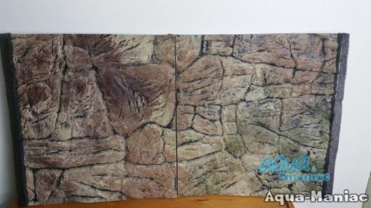 JUWEL RIO 180 3D thin rock background 98x40cm in 2 sections