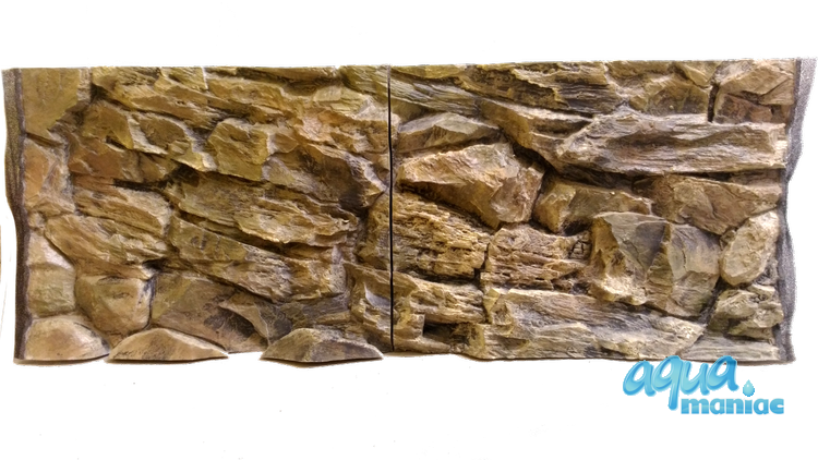 JUWEL RIO 450 3D rock background 148x56cm 3 sections