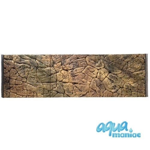 JUWEL RIO 450 3D thin rock background 148x56 cm in 3 sections