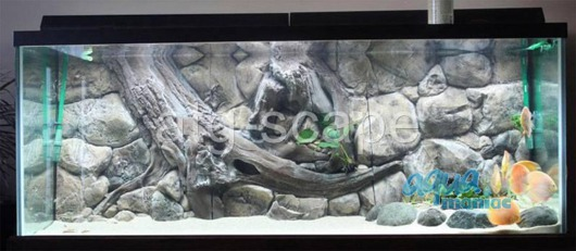 JUWEL Vision 400 3D amazon background 147x53cm in 3 sections