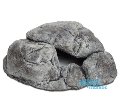 Medium aquarium stone in grey colour
