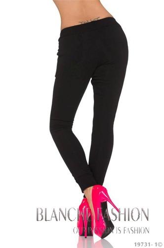 Sexy fleece Joggers tracksuit bottoms jogging Pants 10/12 Black