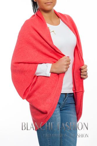 Woman Kimono Jumper Bolero oversize 10/12/14 Coral