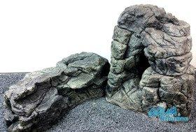 Bundle of XXL and long grey aquarium rock SAVE £6